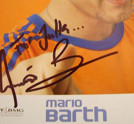 Mario Barth - Autogramm für Jutta Rudolph