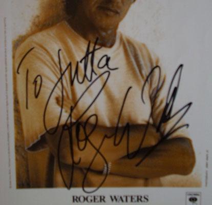 Rogar Wates - Autogramm für Jutta Rudolph