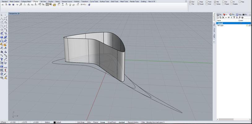 Rhino 3D - Week Four 27 09 16 - gsamarchitecture
