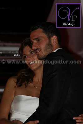 MATRIMONIO LEONARDO BONUCCI WEDDING DOG SITTER