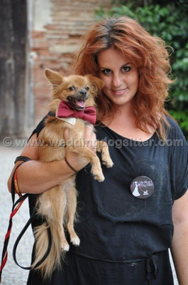 MATRIMONIO WEDDING DOG SITTER BOLOGNA