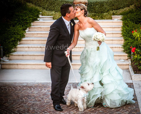 SPOSI CON IL CANE BENEVENTO WEDDING DOG SITTER