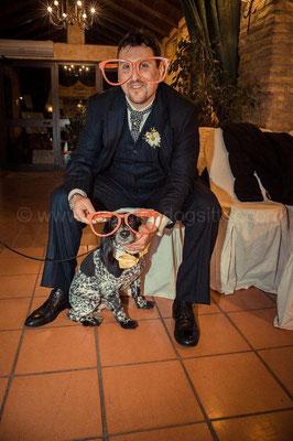 Idee originali per matrimonio 2013 cane con sposo photobooth tenuta sant' eusebio