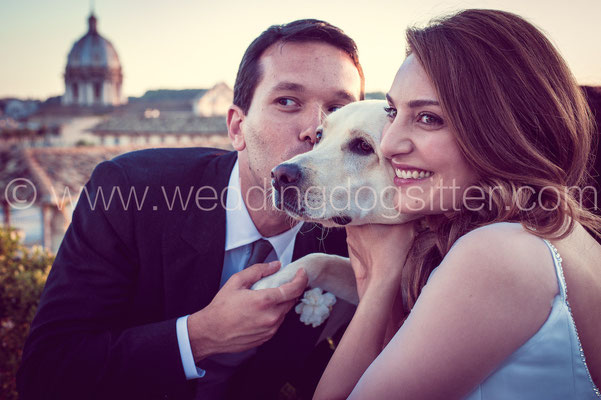 SPOSI CON IL CANE NAPOLI WEDDING DOGS