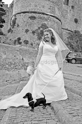 MATRIMONIO WEDDING DOG SITTER BRACCIANO