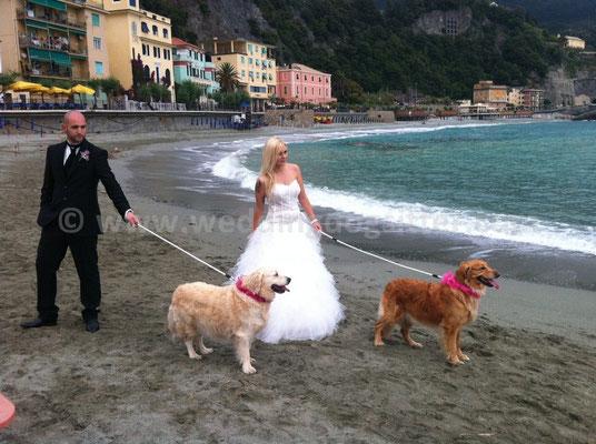 MATRIMONIO WEDDING DOG SITTER LIGURIA MONTEROSSO CINQUE TERRE