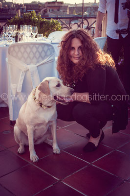 ELISA GUIDARELLI WEDDING DOG SITTER
