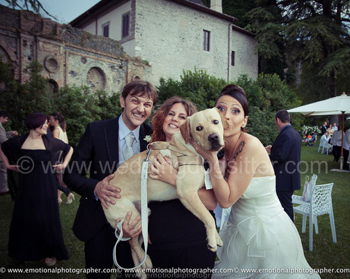 SPOSI CON ELISA GUIDARELLI WEDDING DOG SITTER