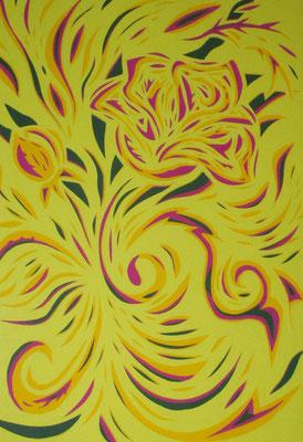 Segmenti floreali - Paper Cutting