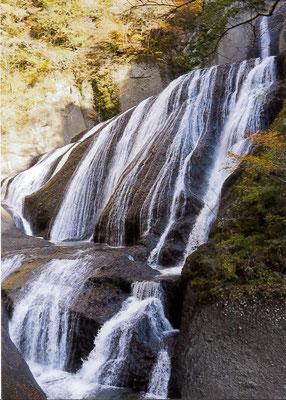 とらさん 袋田の滝