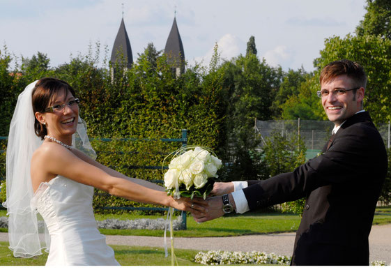 Hochzeitsfoto, Paarfoto