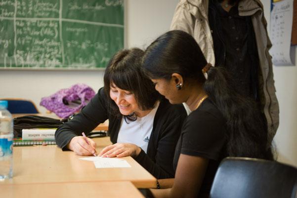 Sprachunterricht für Migranten,  Kunde: Zeitbild Stiftung #Bielefelder Fotograf #Sprachkurs für Migranten