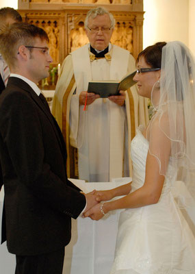 Hochzeitsfoto, Kirchliche Trauung
