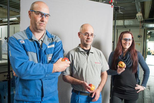 Äpfel zur betrieblichen Gesundheitsvorsorge  / Kunde: Buschjost GmbH  #Firmendarstellung #Imagefoto #Bielefelder Fotograf