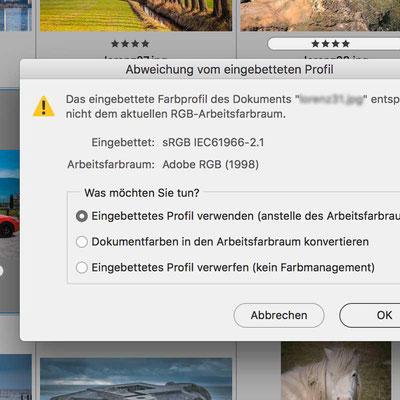 Screenshot Photoshop, Workshop von Jürgen Volkmann Fotografie # Photoshop Workshop