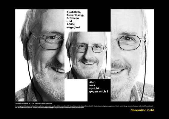 Imagefoto: Generation Gold,  Kunde: Bundesministeriums für Arbeit und Soziales, Berlin #Imagefoto, #Portraitfoto, #Fotograf Bielefeld
