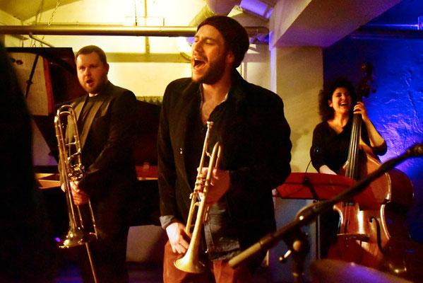 Été Large im Bunker Ulmenwall, Bielefeld 2018 #Jazzkonzert # Bühnenfoto #Eventfotos Bielefeld