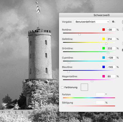 Screenshot Photoshop, Workshop von Jürgen Volkmann Fotografie #von Farbe zu Schwarz Weiss
