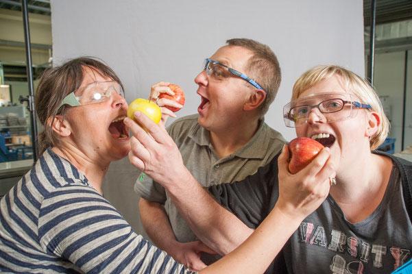 Äpfel zur betrieblichen Gesundheitsvorsorge  / Kunde: Buschjost GmbH #Firmendarstellung #Imagefoto