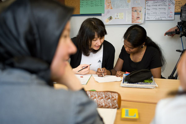 Sprachunterricht für Migranten, Kunde: Zeitbild Stiftung #Sprachkurs für Migranten #Fotoreportage