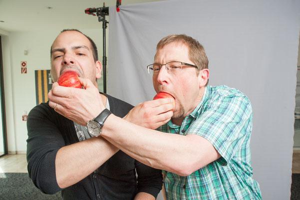Äpfel zur betrieblichen Gesundheitsvorsorge  / Kunde: Buschjost GmbH