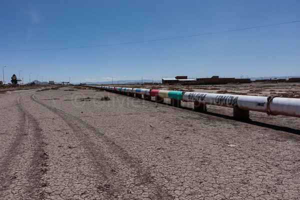 Bolivie - Potosi - Pipeline