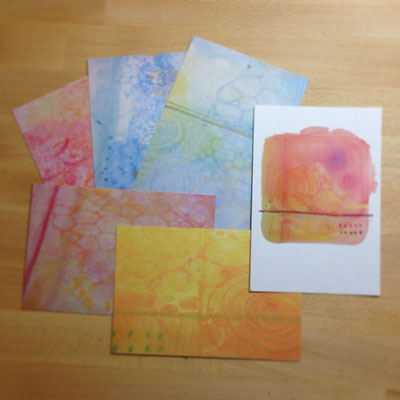 ポストカード 各150円