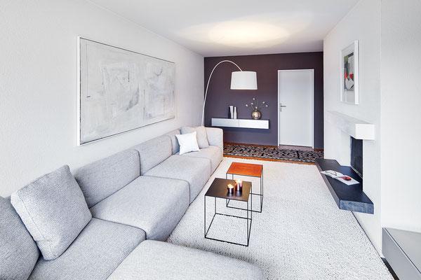5,5-Room Apartment Zürich Höngg Living