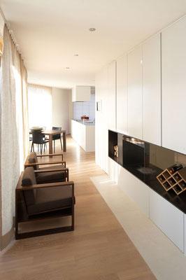 6-Room House Küsnacht Living