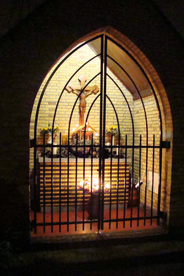 Bergstraat, kruiskapel