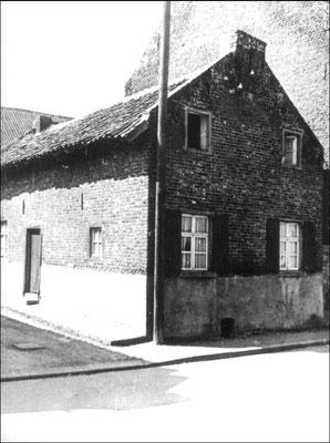 Brugstraat, naast pand Strijkers
