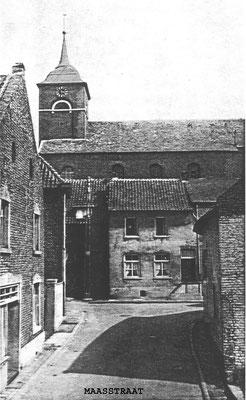 Maasstraat, oude veerhuis