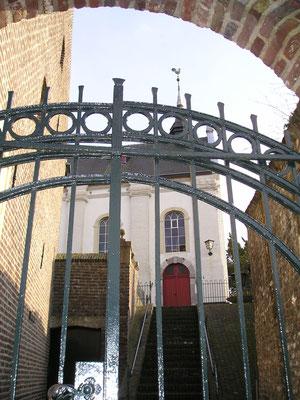 Grotestraat, opgang NH Kerk