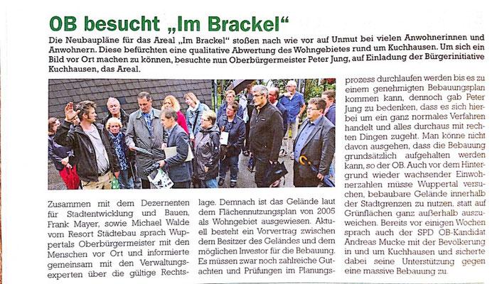 Cronenberger Anzeiger 08.09.2015