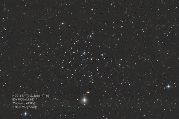 "NGC1647, Teleskop BorenSimon 8"" f3.6, Kamera 700D (mod)+LPS-D1"