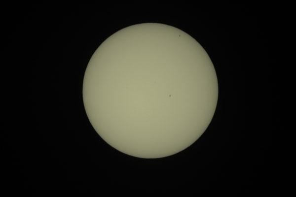 Merkurtransit, 09. Mai 2016, 13:35:03 MESZ