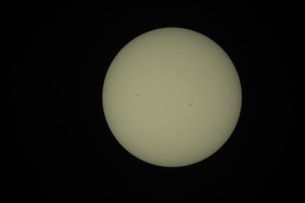 Merkurtransit, 09. Mai 2016, 18:19:39 MESZ