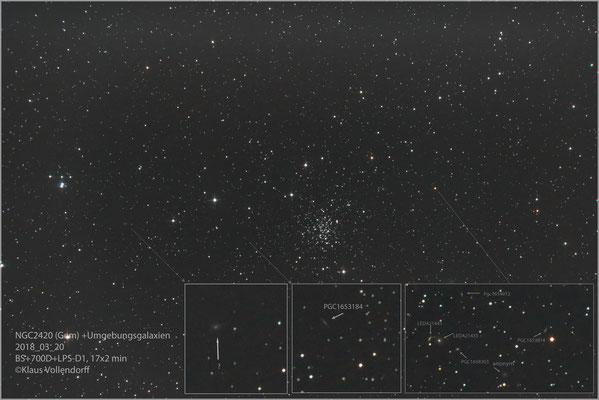 """NGC2420 mit BorenSimon 8""""f3.6, 700D+LPS-D1"""