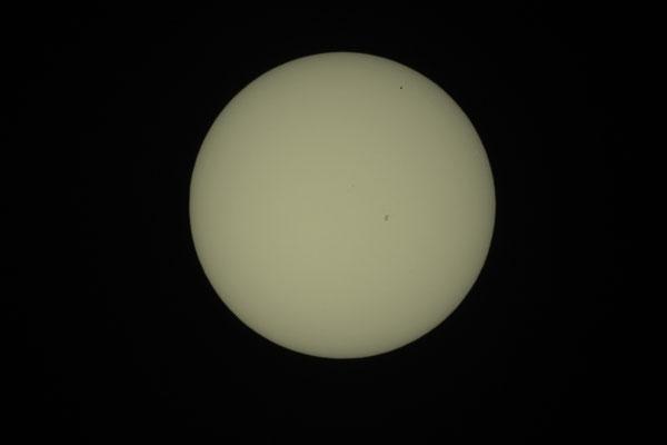 Merkurtransit, 09. Mai 2016, 13:49:56 MESZ