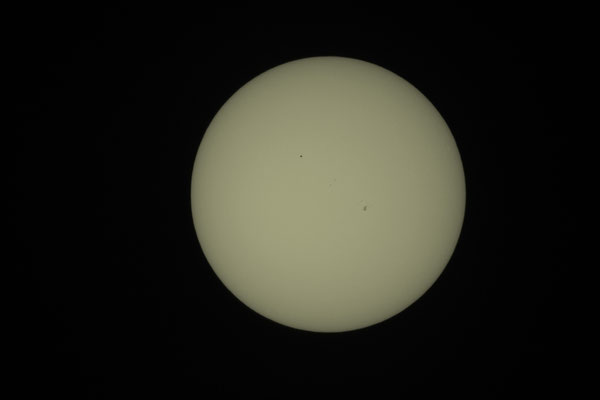 Merkurtransit, 09. Mai 2016, 16:49:43 MESZ