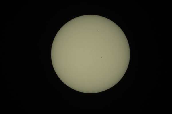 Merkurtransit, 09. Mai 2016, 14:50:08 MESZ