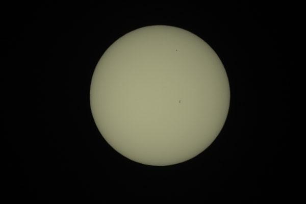 Merkurtransit, 09. Mai 2016, 14:35:10 MESZ