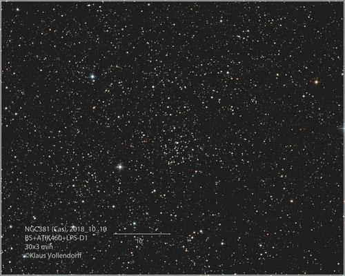 """NGC381 mit BorenSimon 8""""f3.6, ATIK460EXc+LPS-D1"""