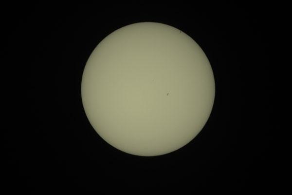 Merkurtransit, 09. Mai 2016, 13:18:36 MESZ