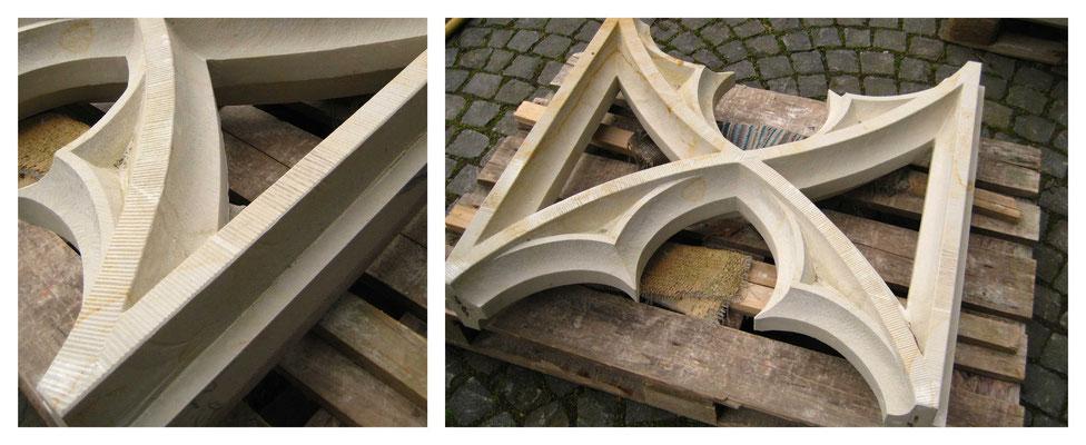 Masswerkstück für die Gedächtniskirche Speyer - Seeberger Sandstein