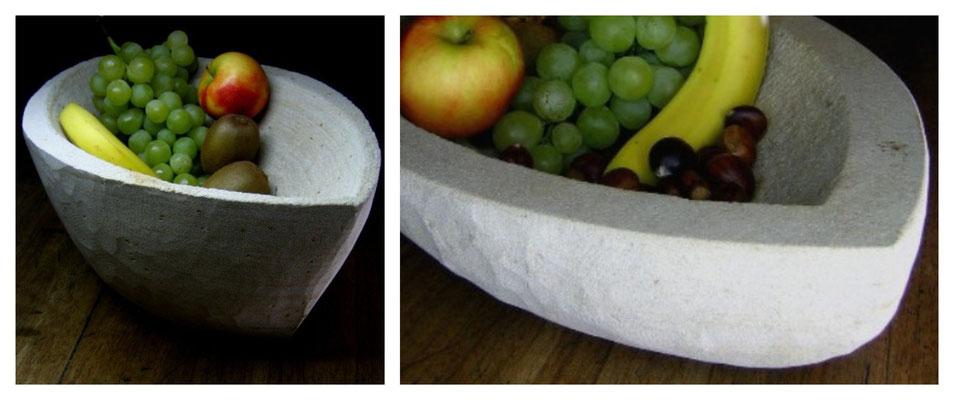 Schalenkompostion - Haardter Sandstein