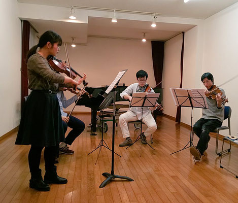2019年ヴィオラ四重奏公開練習会