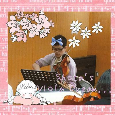 Shota's Viola Dream...