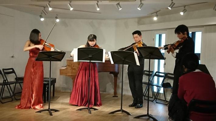 2017年、Aurora Viola  Ensemble 講師演奏