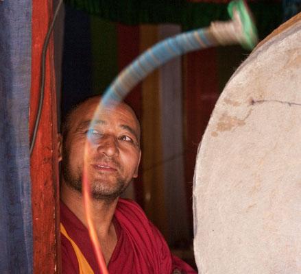 buddhistischer Mönch, Ladakh, Indien